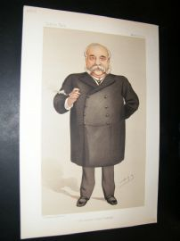 Vanity Fair Print 1890 William Christopher Leng, Newspapermen